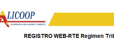 REGISTRO WEB-RTE ALCALICOOP-2020